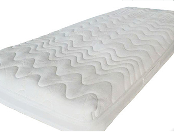 Aloe vera anti-Bacteria quilted memory foam mattress topper with zipper