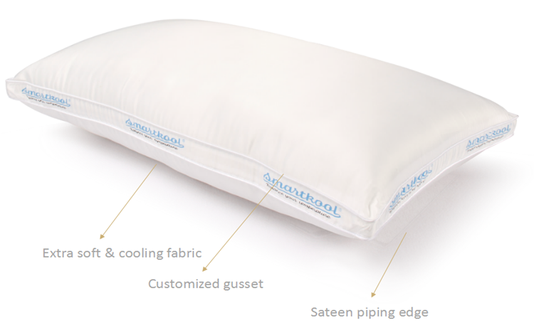 Fancy Gusset Cooling Pillow