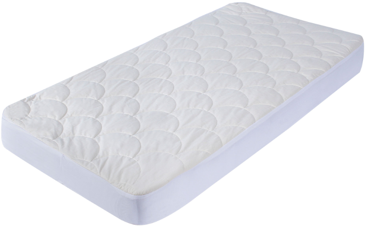 Organic Cotton Quilted Mattress Protector